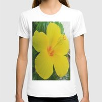 hibiscus T-shirts featuring Hibiscus  by GT6673