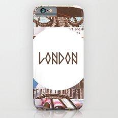 London Collage Slim Case iPhone 6s