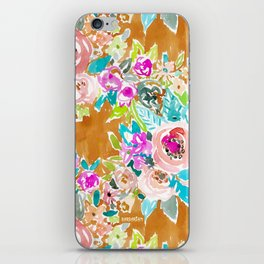 SO LUSCIOUS Colorful Abstract Floral iPhone Skin