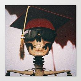 My Bloody Graduation Canvas Print
