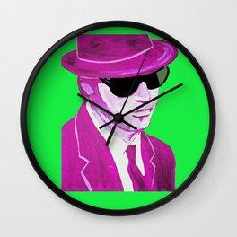 Elwood Blues(& Green & Purple) Wall Clock