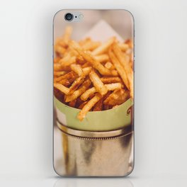 Fries in French Quarter, New Orleans iPhone Skin