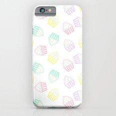 pastel cupcakes  iPhone 6 Slim Case