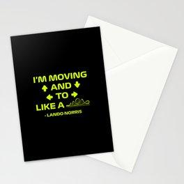 Neon Lando Radio  Stationery Cards