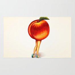Peach Girl Rug