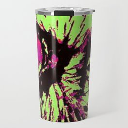 Rainbow Spectacled Owl Travel Mug