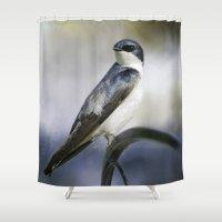Tree Swallowtail Shower Curtain