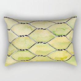 Chicken Wire Rectangular Pillow