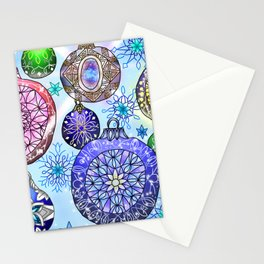 Christmas Artwork #4 (2018, Glow) Stationery Cards