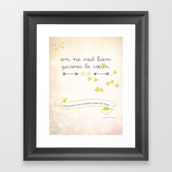 The Little Prince Framed Art Print