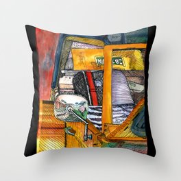 Show Thing Up Close Throw Pillow