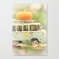 peace and pumpkins Canvas Print