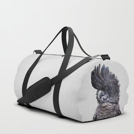 Black Cockatoo - Colorful Duffle Bag