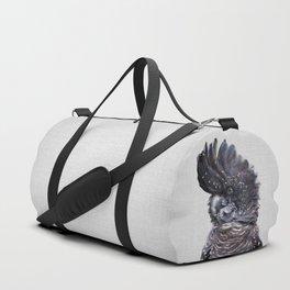 Black Cockatoo - Colorful Duffle Bag