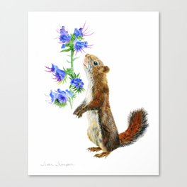 Take Time To Smell The Flowers by Teresa Thompson Canvas Print
