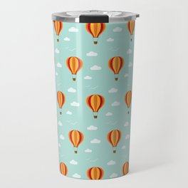 Zooming through the air Travel Mug