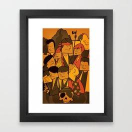 The Goonies (variant aspect ratio) Framed Art Print