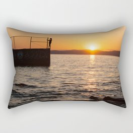 Champlain Sunset Rectangular Pillow
