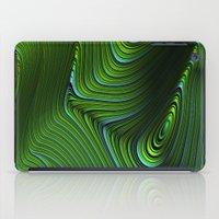 malachite iPad Cases featuring Malachite by Vix Edwards - Fugly Manor Art