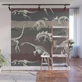Dinosaur's Dig Wall Mural