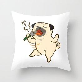 Sing Sing Sing Throw Pillow