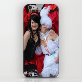 Doll and Beast  iPhone Skin