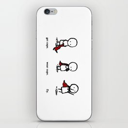 Fly Cape iPhone Skin