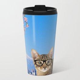 Nessie in Tokyo Metal Travel Mug