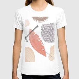 Abstract Art Shapes 7 design T-shirt