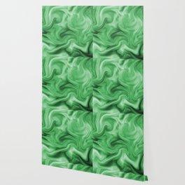 Emerald silk Wallpaper