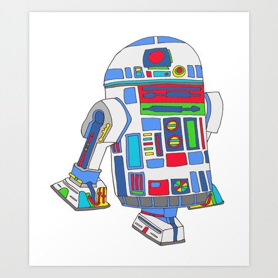 cool boys like epic droids Art Print