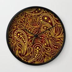 Seamless pattern Wall Clock