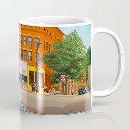 Downtown Northampton, MA Art Print Coffee Mug