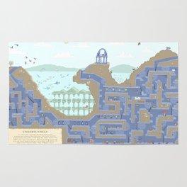 Undertunnels Maze Rug