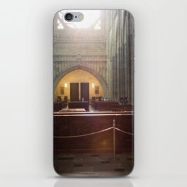Diptych of St. Vitus Cathedral: Prague, Czech Republic.  iPhone Skin