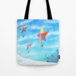 Star Travellers Tote Bag