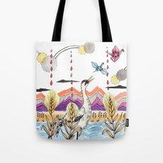 Crane Gang Tote Bag