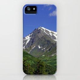 Scenic Seward Highway - Summer iPhone Case