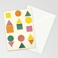 Shape Sorter Stationery Cards