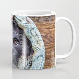 Lion Door Knocker - Regal Leo Travel Photography Coffee Mug