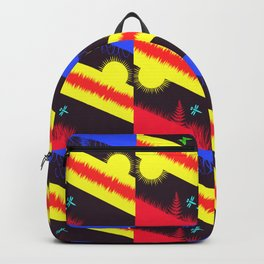 Nature Abstraction Backpack
