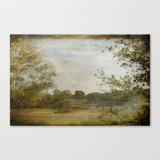A Walk in the Country Canvas Print