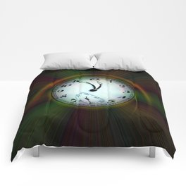 Magic of colors - Time is running out Comforters