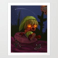 Deku Link Art Print