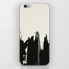 Black Paint Layers iPhone Skin