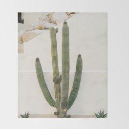 Cabo Cactus X Throw Blanket
