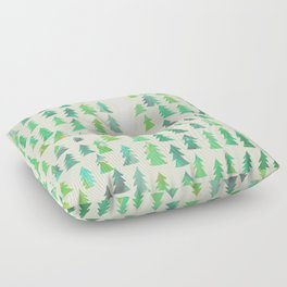 Alone in the woods Floor Pillow