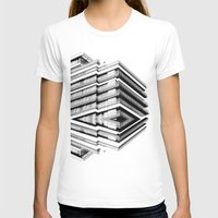 the grand budapest hotel T-shirts featuring Hotel Merriot Budapest. Deconstruction by Villaraco