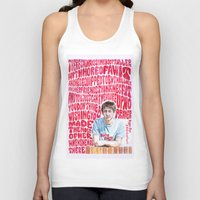 arctic monkeys Tank Tops featuring Bigger Boys and Stolen Sweethearts - Arctic Monkeys by Frances May K