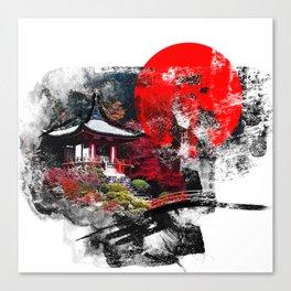 Abstract Kyoto Canvas Print
